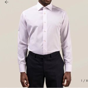 Eton Contemporary fit gingham